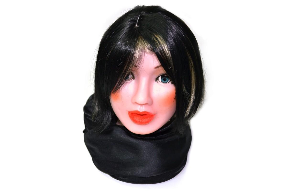 Black shorthair wig