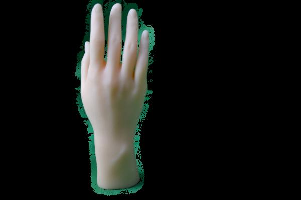 Ultrarealistische Teeny-Hand für die für die MM Sensation & Pyramide