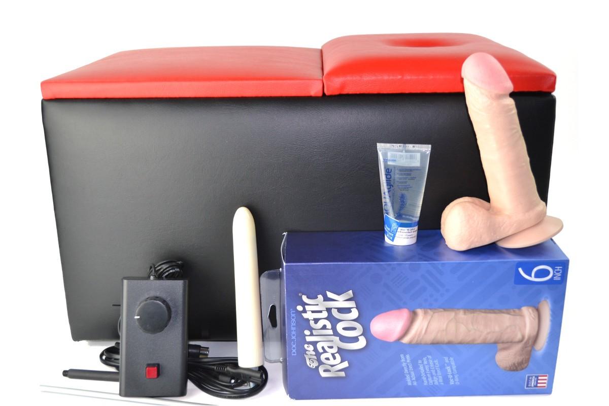 Magic Motion Deluxe Standard mit Kabel-Handsteuerung (schwarz-rot)