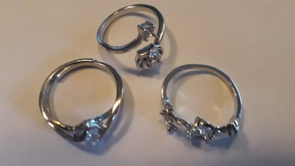 3er Set Ringe